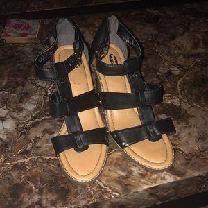 Dr.Scholl's block heel sandal